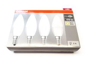 Bilde av E14 Osram LED B40 matt 4 stk