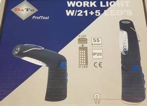 Bilde av BaTo LED arbeidslampe,