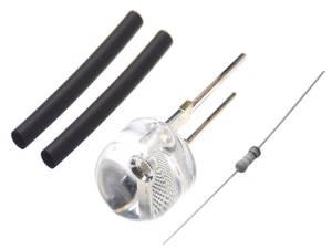 Bilde av 1 stk 10mm diode til 12V i