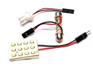 Bilde av LED Plate 12xSMD LED, Hvitt